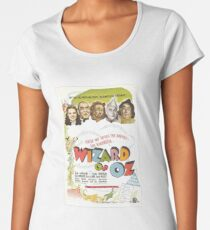 Wizard of Oz Movie Poster Women's Premium T-Shirt
