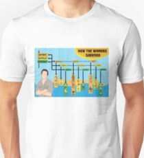 Survivor Winners Infographic T-Shirt