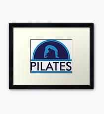 Pilates Framed Print