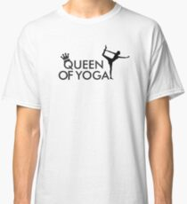 Queen of yoga Classic T-Shirt