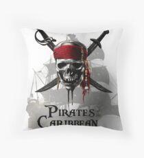 Pirates of the caribbean  Throw Pillow