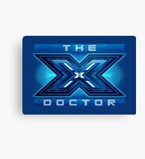 The X Doctor Canvas Print