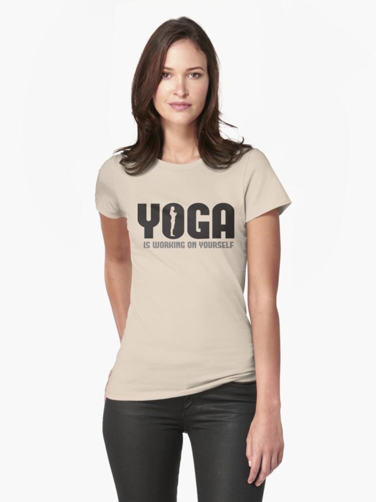 Yoga is working on yourself by nektarinchen