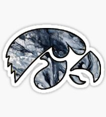 University of Iowa Marble Sticker