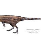 Dilophosaurus by SerpenIllus