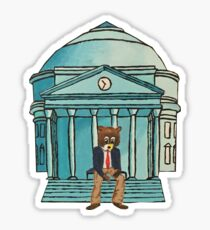 Kanye Bear on Rotunda Sticker