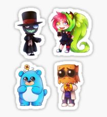 Villainous pack Sticker