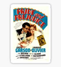 Pride and Prejudice Poster (1940) Sticker