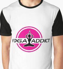 Yoga addict Graphic T-Shirt