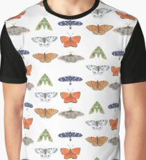 flight of butterflies repeating pattern Graphic T-Shirt