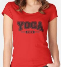 Yoga crew Women's Fitted Scoop T-Shirt