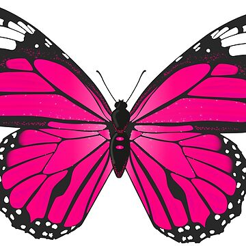 Pinkyblack Butterfly by domidurand