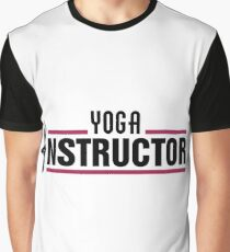 Yoga instructor Graphic T-Shirt