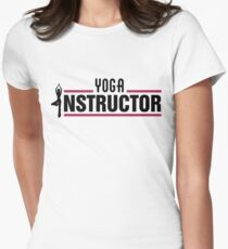 Yoga instructor Women's Fitted T-Shirt