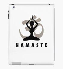 Namaste iPad Case/Skin