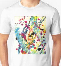 Experiments in Motion-Quad 1-Part 2 Unisex T-Shirt