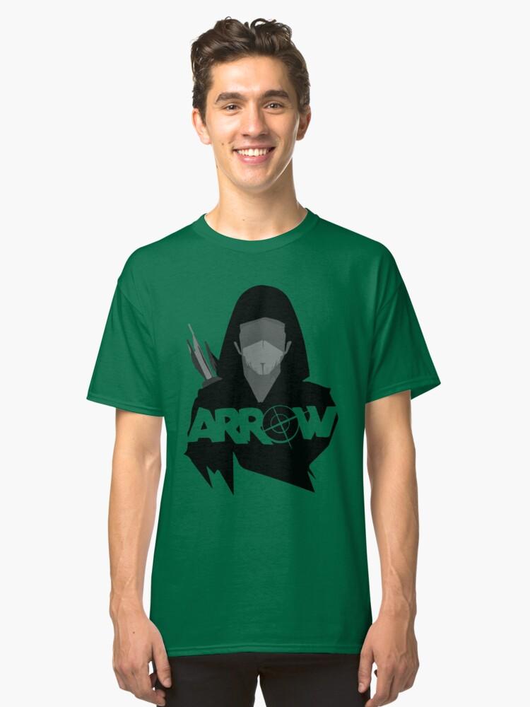 Green Arrow CBS Classic T-Shirt Front