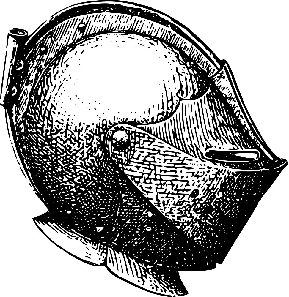 Medieval Helmet by seriouscereal