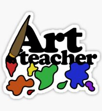 Art Teacher Sticker