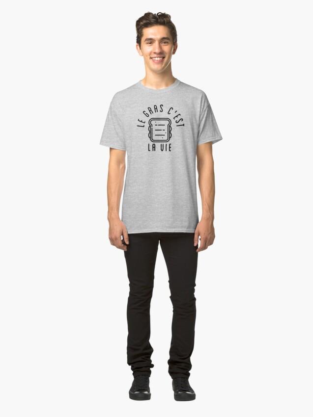 T-shirt classique ''LGCLV Sandwich': autre vue