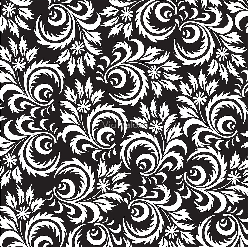 chamomile pattern by VioDeSign