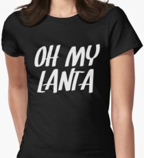 Oh My Lanta Women's Fitted T-Shirt