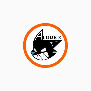 Alopex Logo T-shirt by Alopex