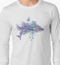 Journeying Spirit (Shark) Long Sleeve T-Shirt