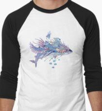 Journeying Spirit (Shark) Baseball ¾ Sleeve T-Shirt