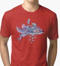 Journeying Spirit (Shark) Tri-blend T-Shirt