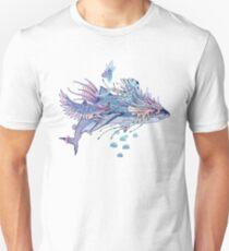 Journeying Spirit (Shark) Slim Fit T-Shirt