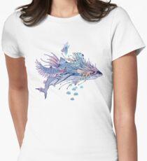 Journeying Spirit (Shark) Fitted T-Shirt