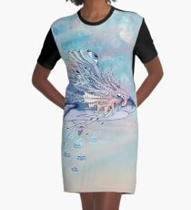 Journeying Spirit (Shark) Graphic T-Shirt Dress