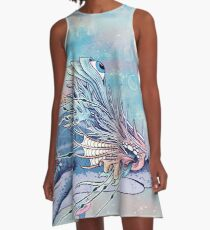 Journeying Spirit (Shark) A-Line Dress