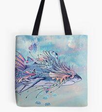 Journeying Spirit (Shark) Tote Bag