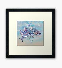 Journeying Spirit (Shark) Framed Print