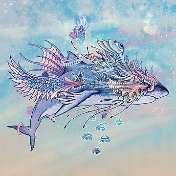 Journeying Spirit (Shark) by MatMiller