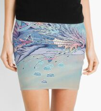 Journeying Spirit (Shark) Mini Skirt