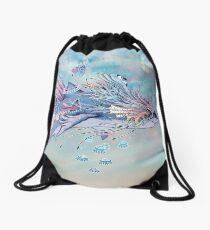 Journeying Spirit (Shark) Drawstring Bag