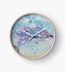 Journeying Spirit (Shark) Clock