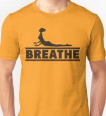 Yoga: Breathe Unisex T-Shirt
