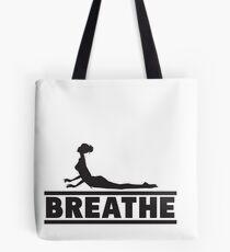 Yoga: Breathe Tote Bag