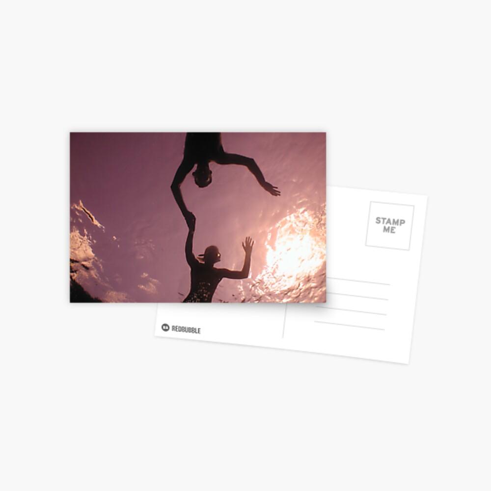 siluette Postcard