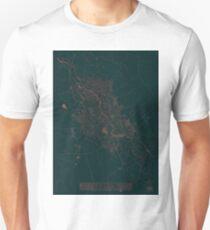 Hamilon Map Red Unisex T-Shirt