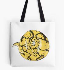 Ball Python (Bumblebee) Tote Bag