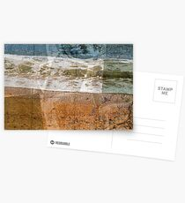 toss your cares out to the sea Postcards
