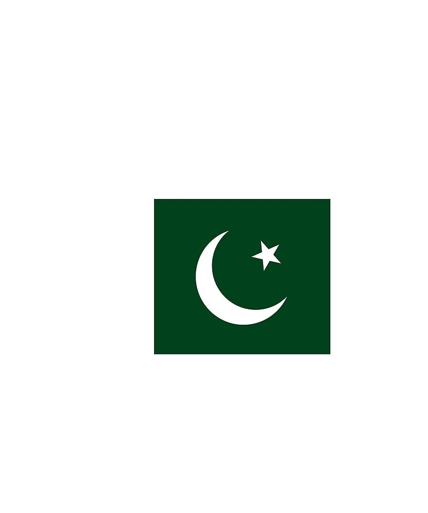 Pakistan Flag National Pride by TrevelyanPrints