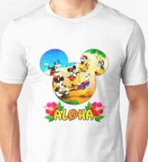 Aloha Mickey and Friends Unisex T-Shirt