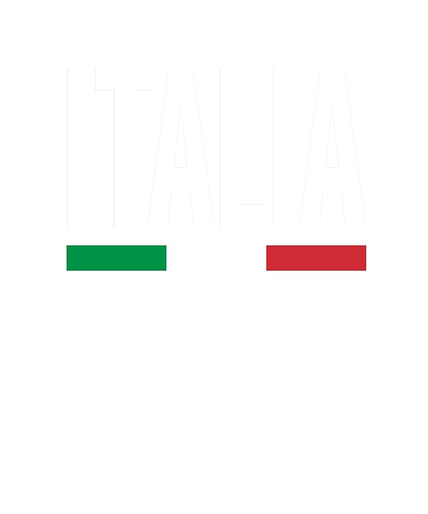 Italia Flag National Pride by TrevelyanPrints