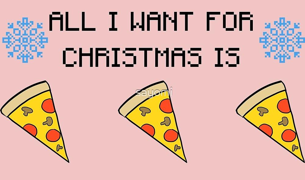 Christmas Pizza by Alyssa Latorre